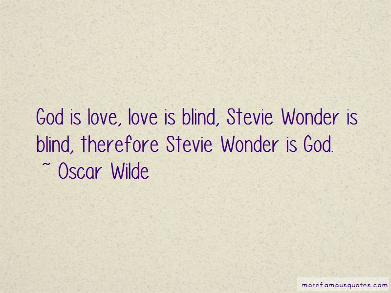 Quotes About Love Love Is Blind