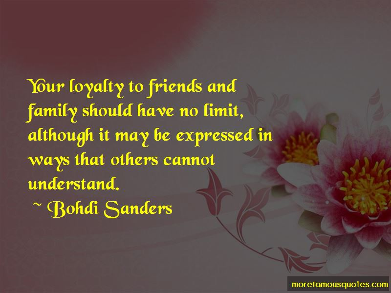 Quotes About Loyalty To Friends