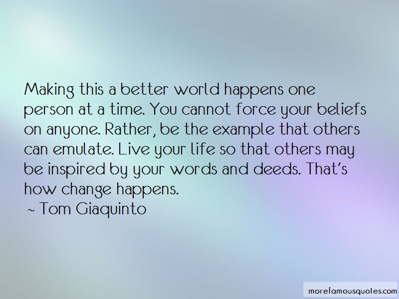 Making Life Better For Others Quotes Pictures 2