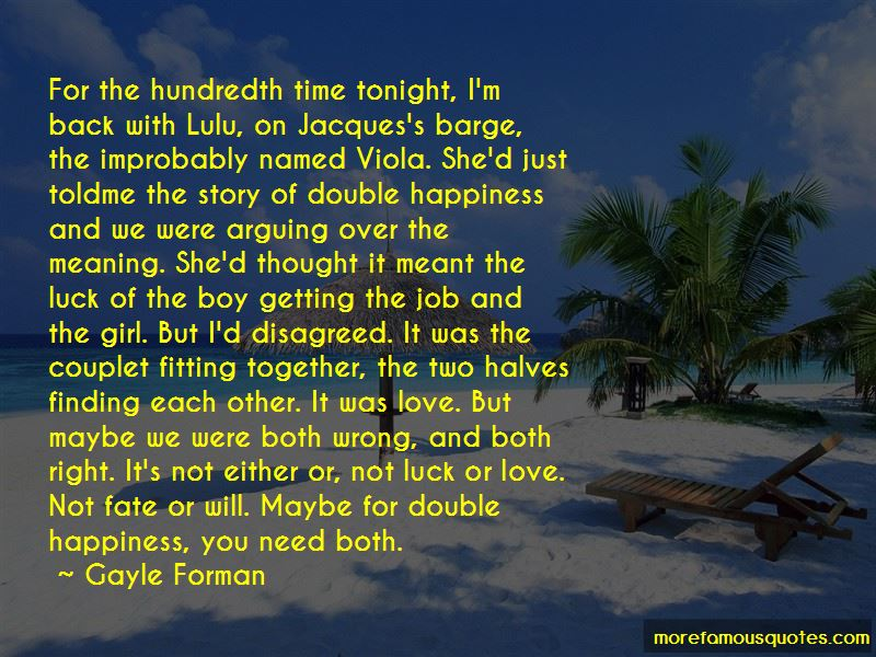 Maybe Getting Back Together Quotes Pictures 4