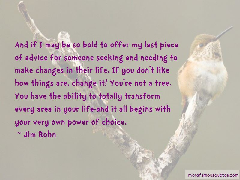 Quotes About Needing Someone To Change
