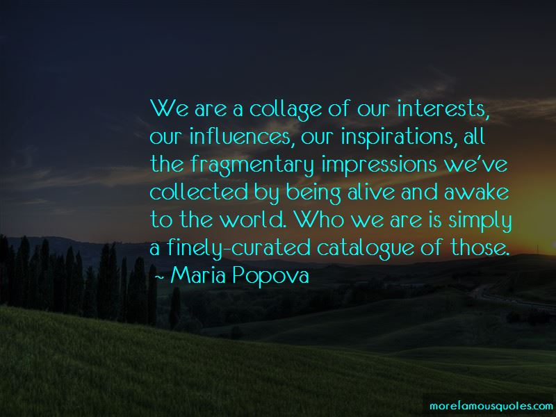 Quotes About Our Inspirations