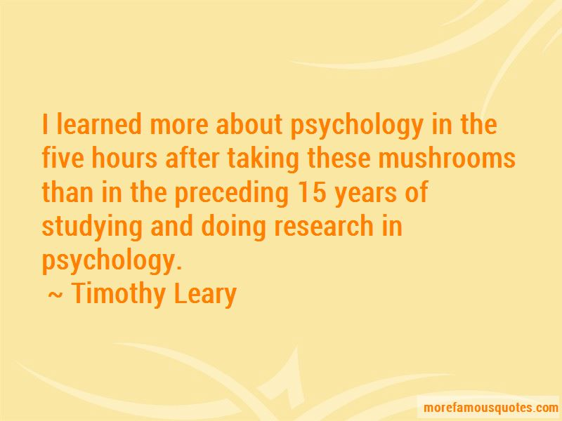 Research In Psychology Quotes Pictures 3