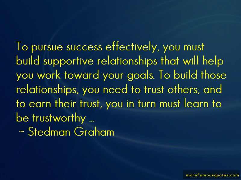 Quotes About Supportive Relationships