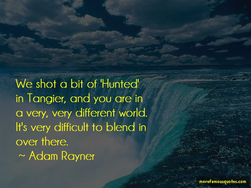 Tangier Quotes Pictures 2