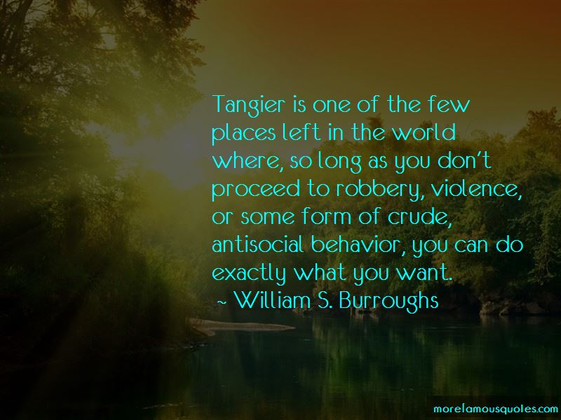 Tangier Quotes Pictures 3