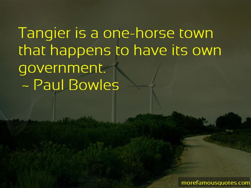 Tangier Quotes Pictures 4