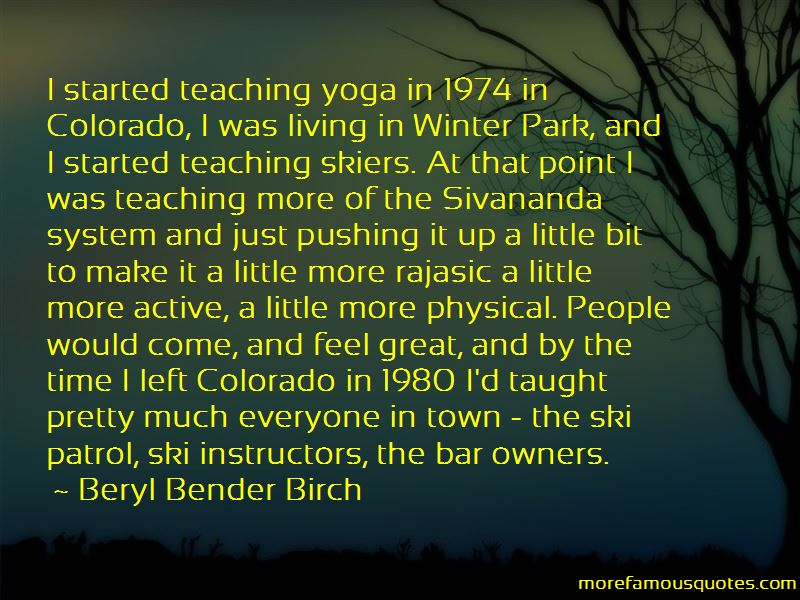 Quotes About Teaching Yoga
