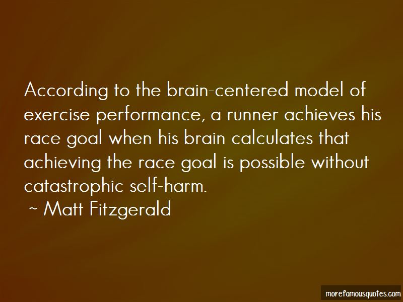 Quotes About The Brain And Exercise