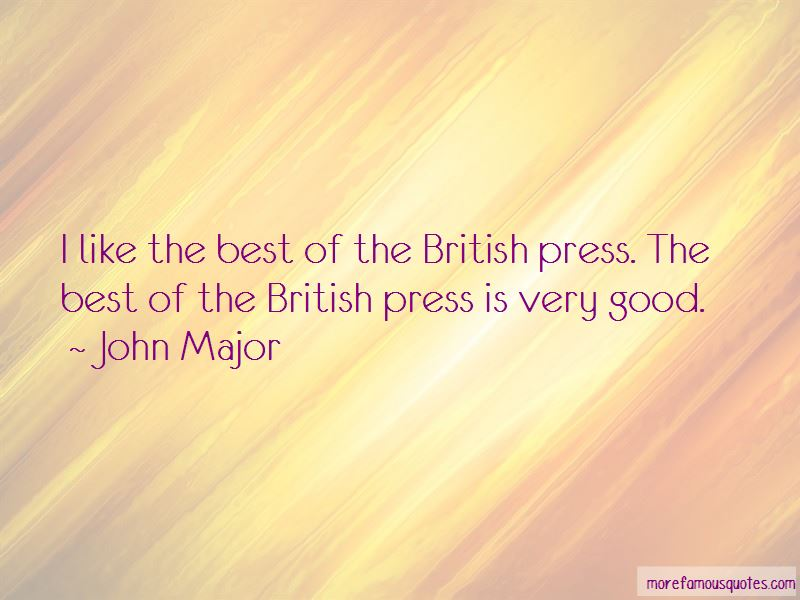 Quotes About The British Press