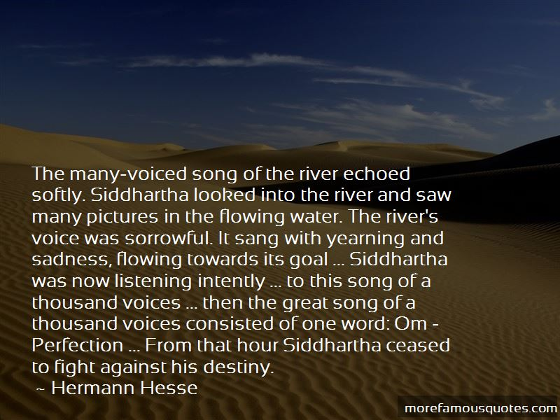 The River In Siddhartha Quotes Pictures 4