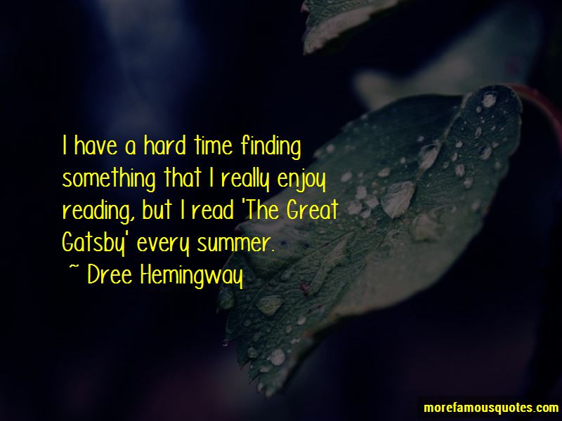 Quotes About Time In The Great Gatsby
