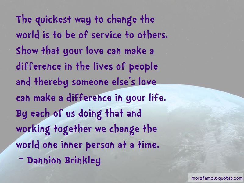 Together We Can Make A Difference Quotes Pictures 3