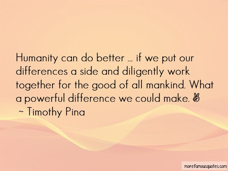 Together We Can Make A Difference Quotes Pictures 4