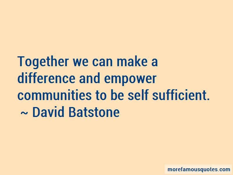 Quotes About Together We Can Make A Difference