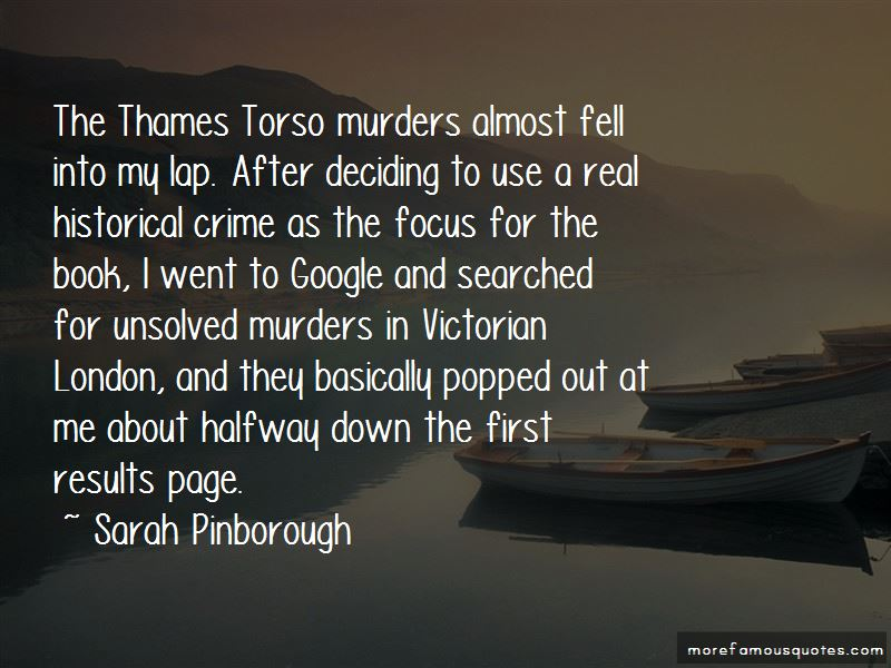 Quotes About Unsolved Murders