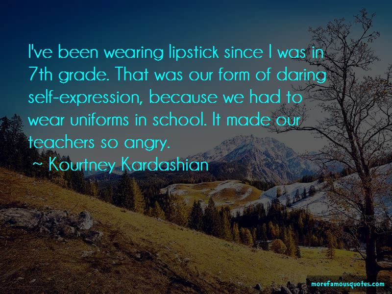 Wearing School Uniforms Quotes Pictures 2