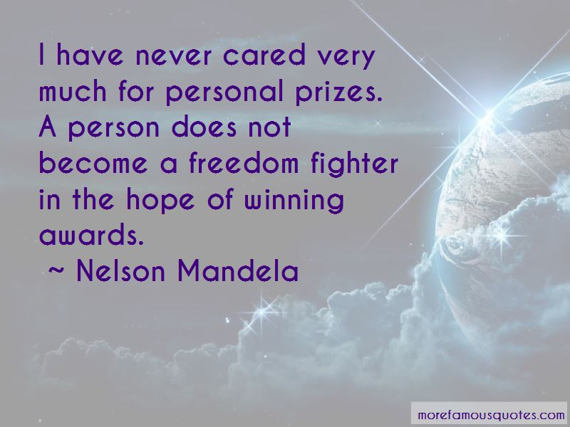 Quotes About Winning Awards