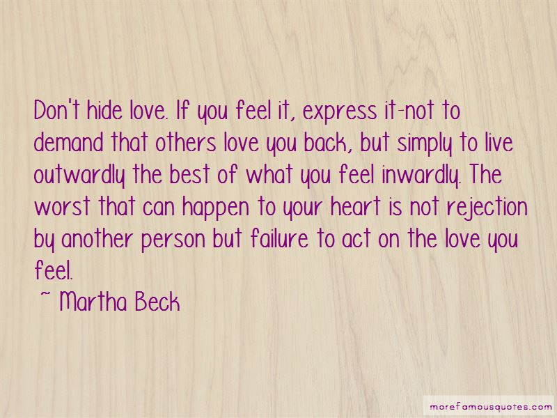Rejection From Love Quotes