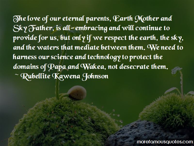 Respect Mother Earth Quotes Pictures 3