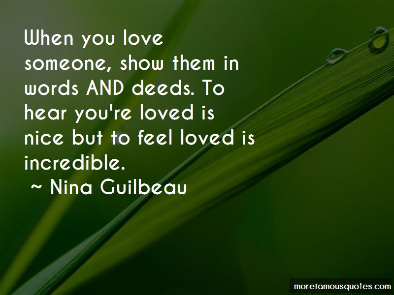 Show You Love Someone Quotes Pictures 2