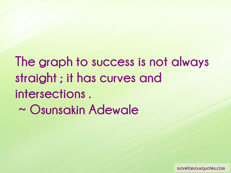 Success Graph Quotes