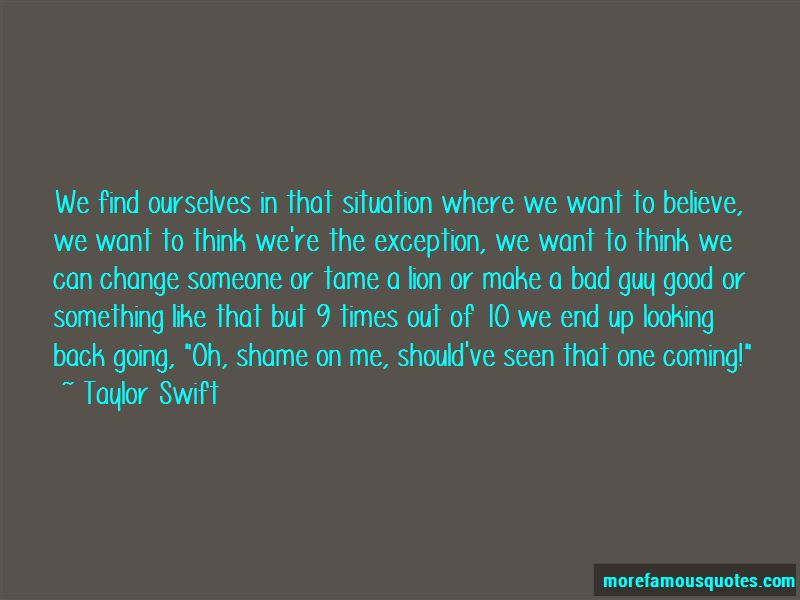 Tame A Lion Quotes