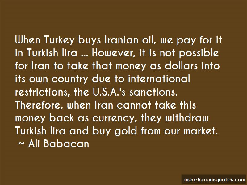 Turkish Lira Quotes