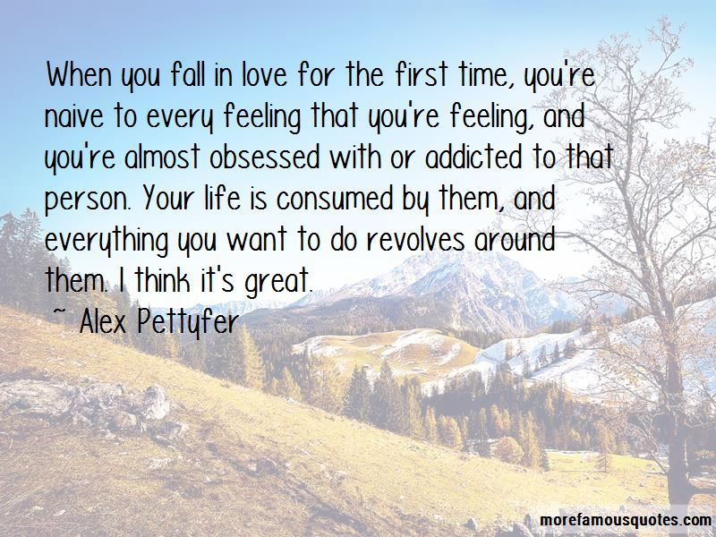 When We First Fall In Love Quotes