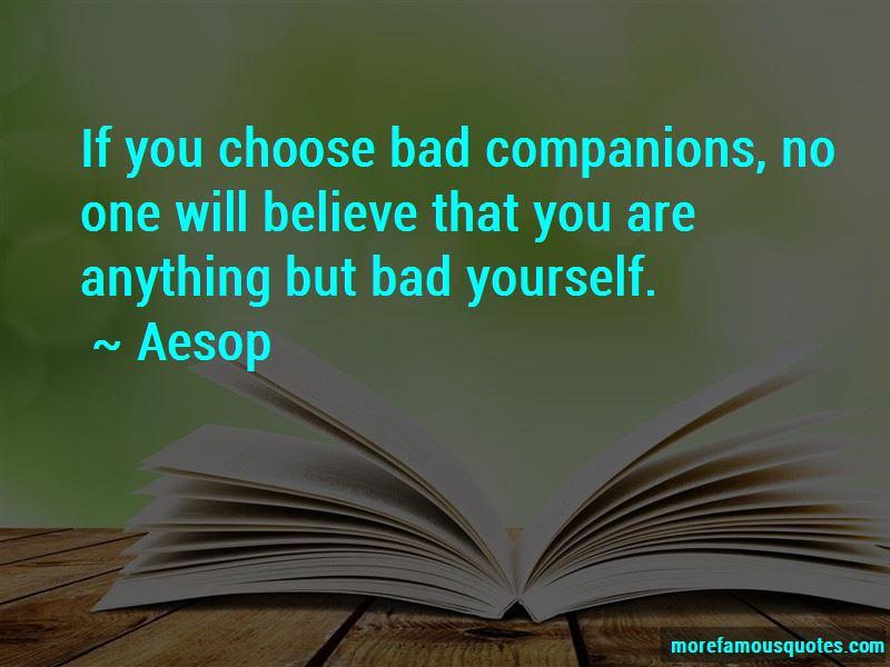 Bad Companions Quotes