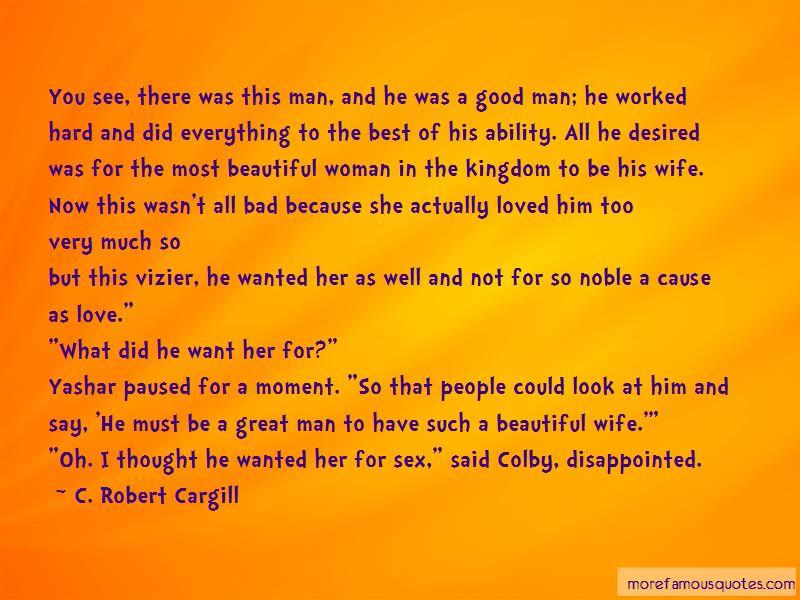 Bad Man Love Quotes