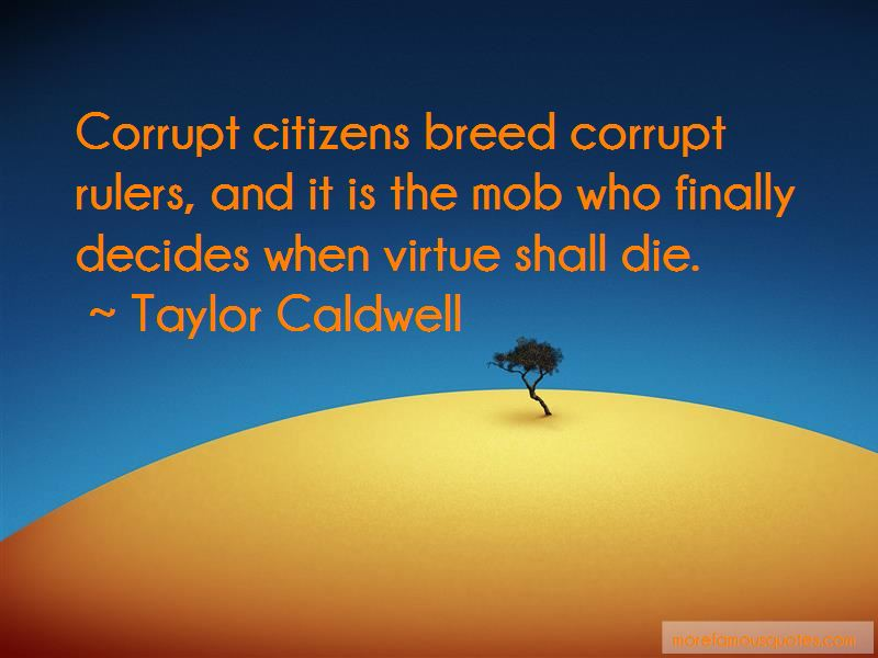 Corrupt Rulers Quotes