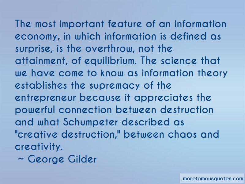 Creative Destruction Quotes