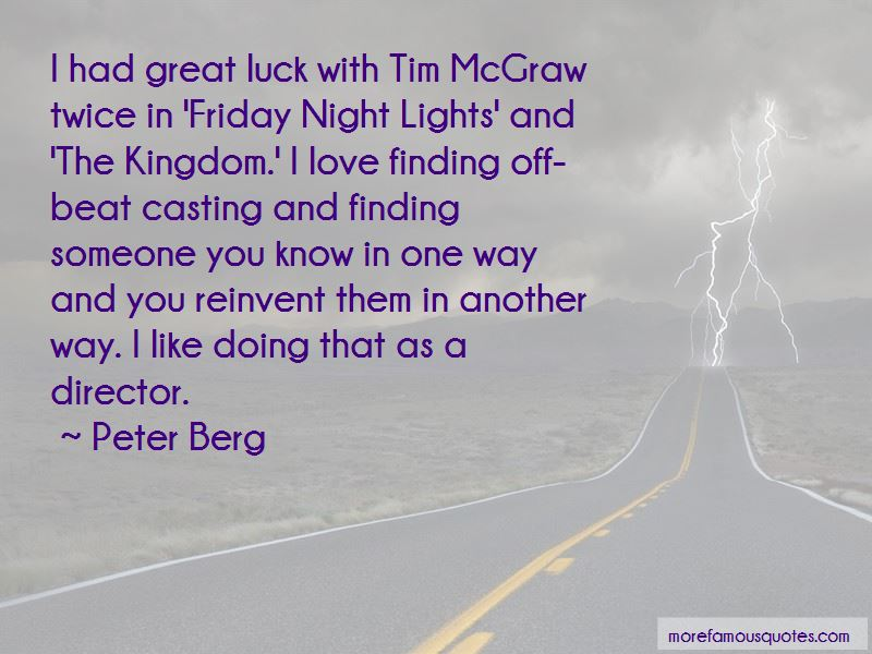 Friday Night Lights Tim Mcgraw Quotes