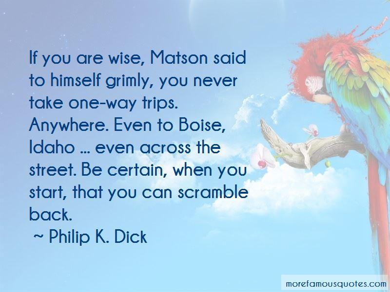 Matson Quotes