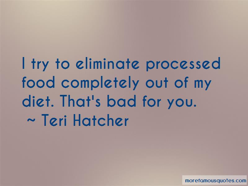 Processed Food Quotes