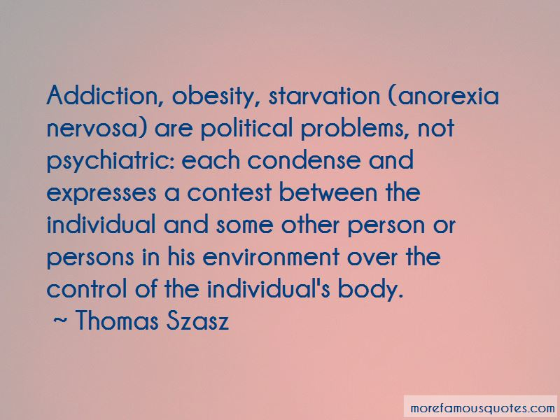 Quotes About Anorexia Nervosa