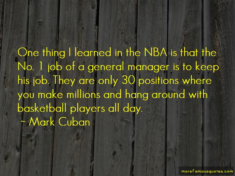 Quotes About Basketball Players
