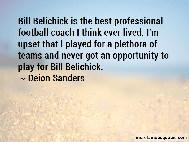 Quotes About Bill Belichick