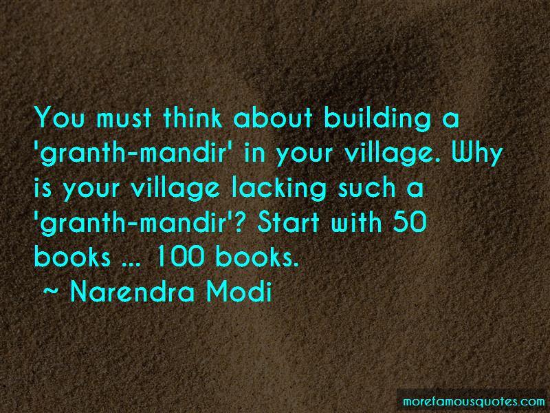 Building A Village Quotes Pictures 3