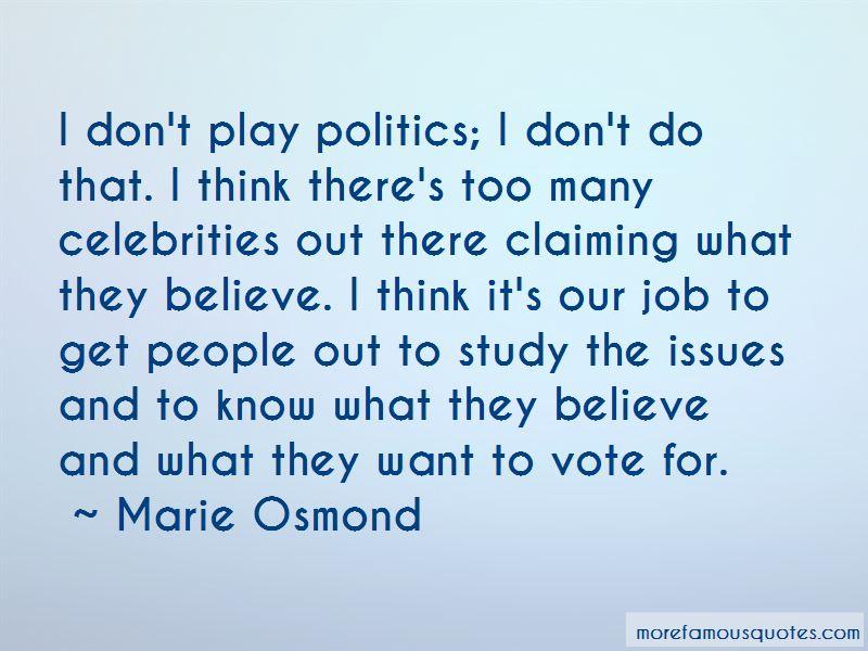 Celebrities And Politics Quotes Pictures 3