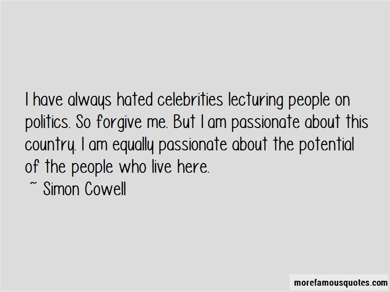 Quotes About Celebrities And Politics