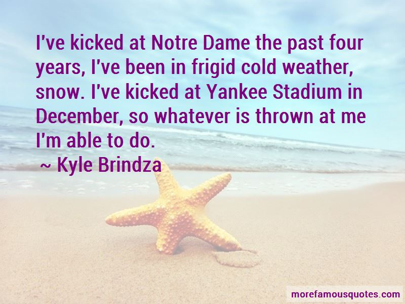 Quotes About December Weather