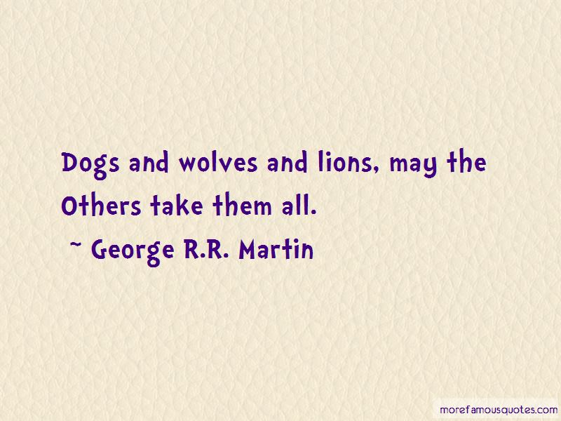 Quotes About Dogs And Wolves