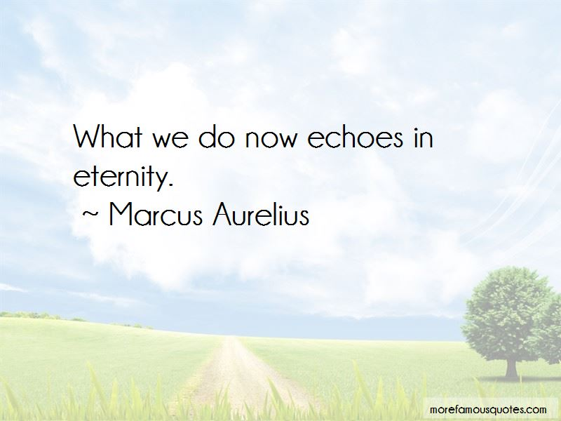 Quotes About Echoes In Eternity