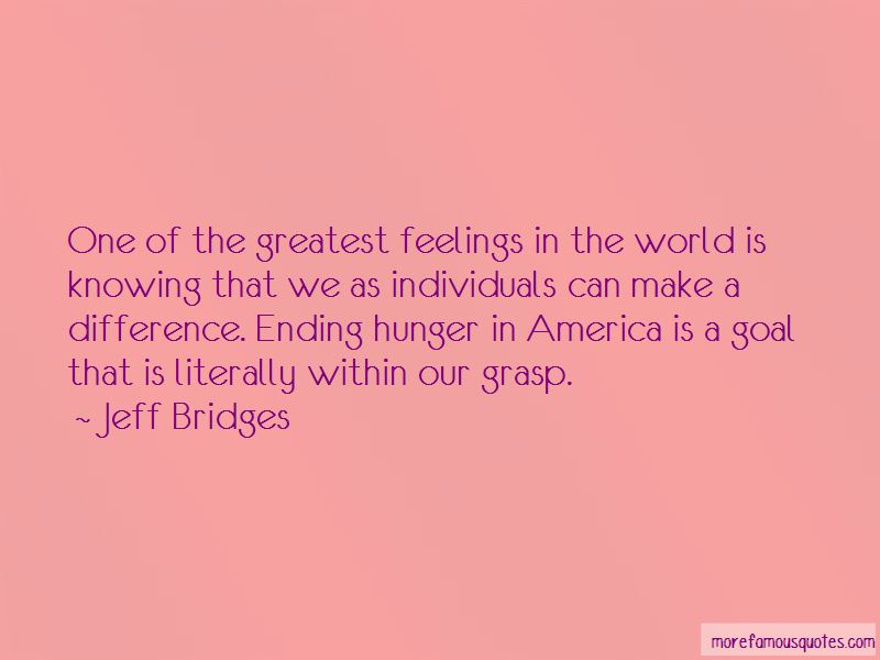 Ending Hunger Quotes Pictures 3