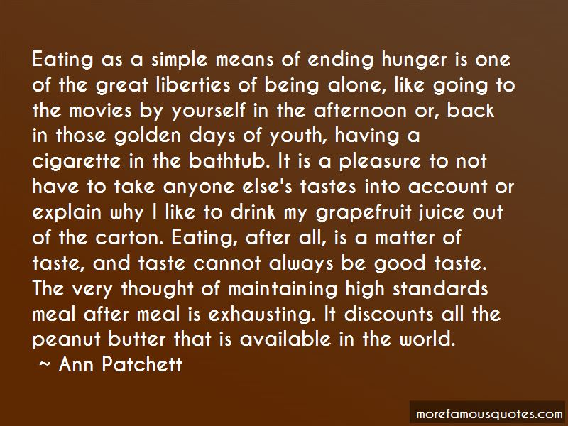 Quotes About Ending Hunger