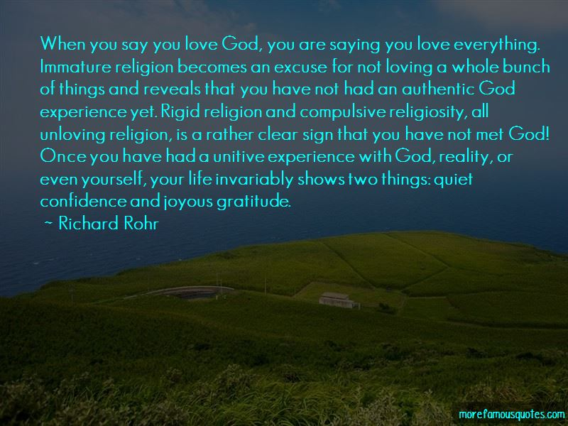 Experience With God Quotes Pictures 2