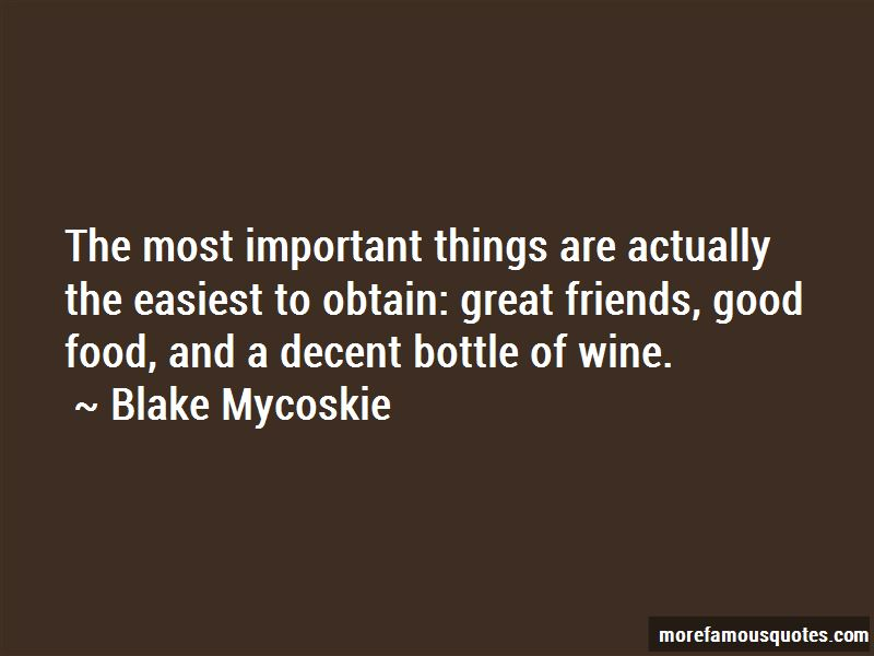 Food Wine And Friends Quotes Pictures 2