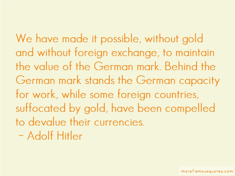 Quotes About Foreign Exchange